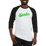 Retro Micaela (Green) Baseball Jersey
