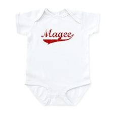 Magee (red vintage) Infant Bodysuit