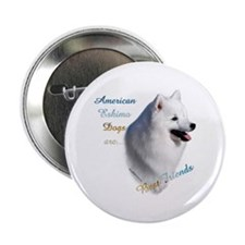 "Eskimo Best Friend1 2.25"" Button"