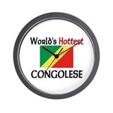 World's Hottest Congolese Wall Clock