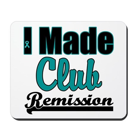 Club Remission Teal Mousepad