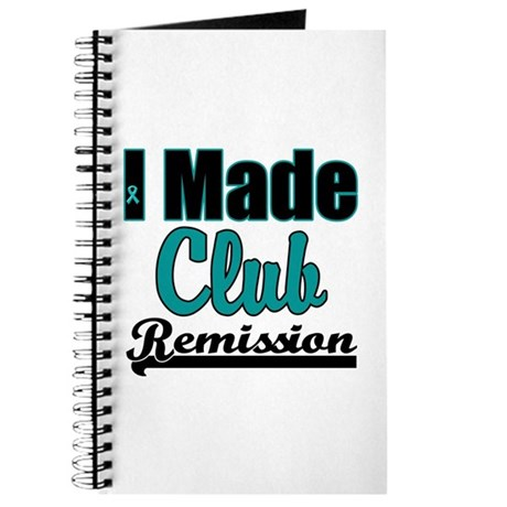 Club Remission Teal Journal