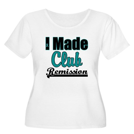 Club Remission Teal Women's Plus Size Scoop Neck T