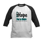 iHope Ovarian Cancer Kids Baseball Jersey