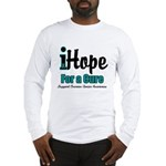 iHope Ovarian Cancer Long Sleeve T-Shirt