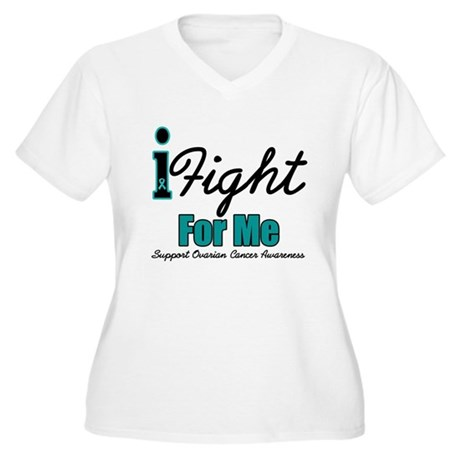 I Fight For Me (OC) Women's Plus Size V-Neck T-Shi