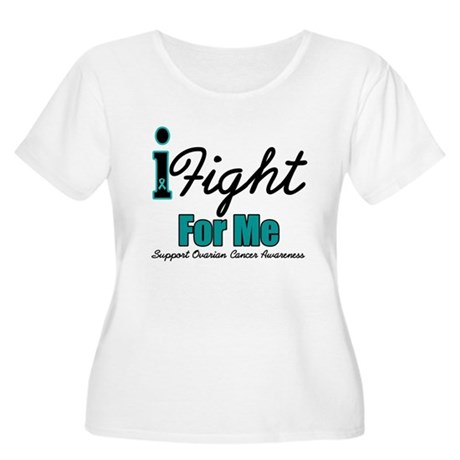 I Fight For Me (OC) Women's Plus Size Scoop Neck T