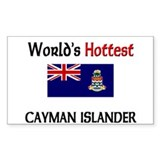 World's Hottest Cayman Islander Decal
