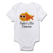 Daddy's Little Fisherman Infant Bodysuit