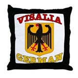 Visalia German Throw Pillow