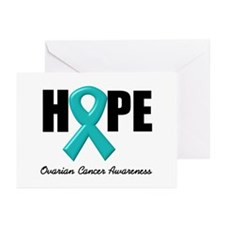 Hope Ovarian Cancer Greeting Cards (Pk of 10)