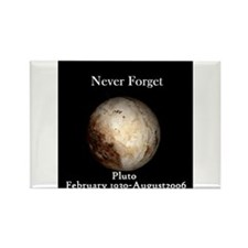 Cool Funny pluto Rectangle Magnet