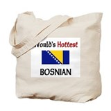 World's Hottest Bosnian Tote Bag