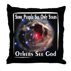 Some People See Only Stars Ot Throw Pillow