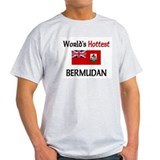 World's Hottest Bermudan T-Shirt