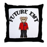 Future EMT Throw Pillow