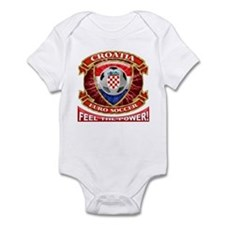 Croatia Soccer Power Infant Bodysuit