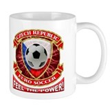 Czech Republic Soccer Power Mug