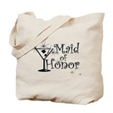 Black C Martini Maid Honor Tote Bag