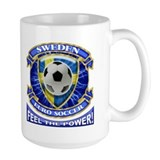 Sweden Soccer Power Mug