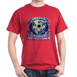 Sweden Soccer Power T-Shirt