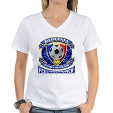 Romania Soccer Power Shirt