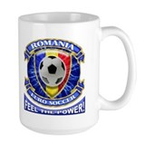 Romania Soccer Power Mug