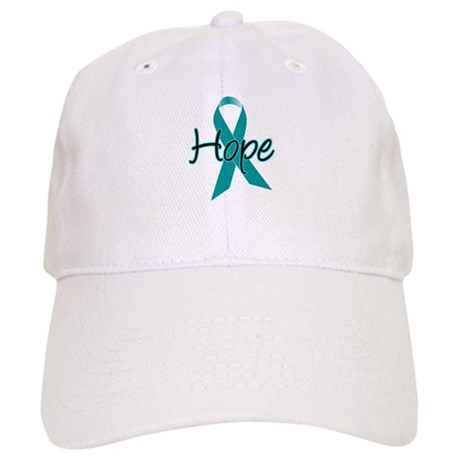Hope Teal Ribbon Cap