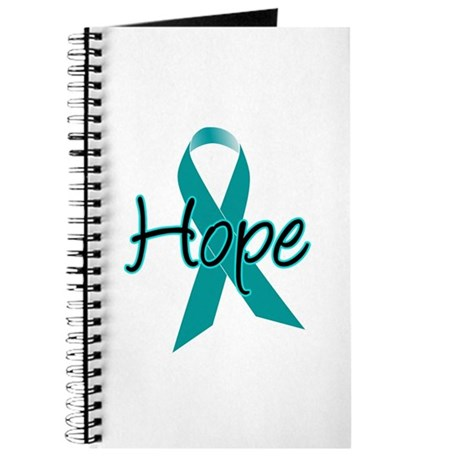 Hope Teal Ribbon Journal