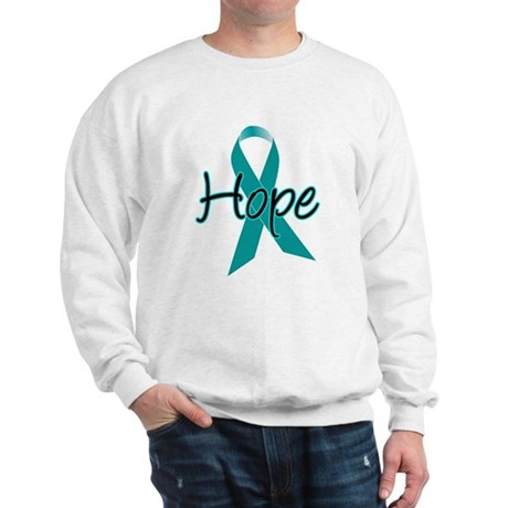 Hope Teal Ribbon Sweatshirt