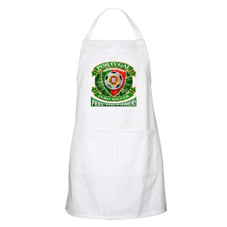 Portugal Soccer Power BBQ Apron