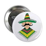 "Cinco de Mayo Mexican Guy 2.25"" Button (100 pack)"