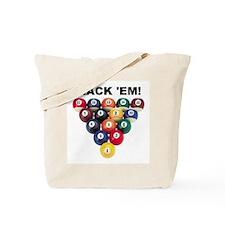 RACK 'EM! Tote Bag