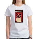 SIAMESE Cat Dictator - Women's T-Shirt