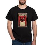 SIAMESE Cat Dictator - Dark T-Shirt