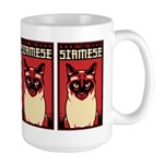 Obey the SIAMESE - Large Cat Dictator Mug