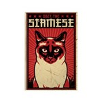 SIAMESE Dictator Cat Magnets (10 pack)