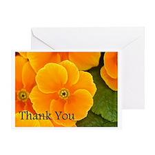 Primrose Thank You Greeting Card