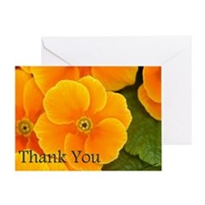 Primrose Thank You Greeting Card