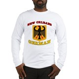 New Orleans German Long Sleeve T-Shirt