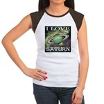 I Love Saturn Women's Cap Sleeve T-Shirt