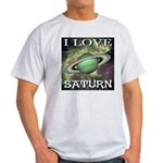 I Love Saturn Light T-Shirt