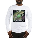 I Love Saturn Long Sleeve T-Shirt