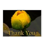 Water Flower Thank You Postcards (Package of 8)