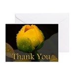 Water Flower Thank You Greeting Cards (Pk of 20)