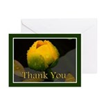 Water Flower Thank You Greeting Cards (Pk of 10)