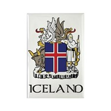 Iceland Coat of Arms Rectangle Magnet