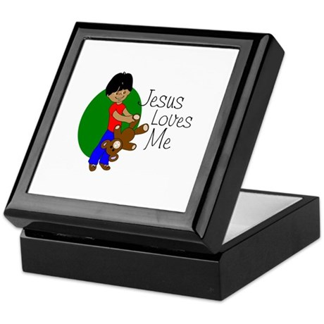 Jesus Loves Me Keepsake Box