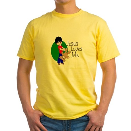 Jesus Loves Me Yellow T-Shirt