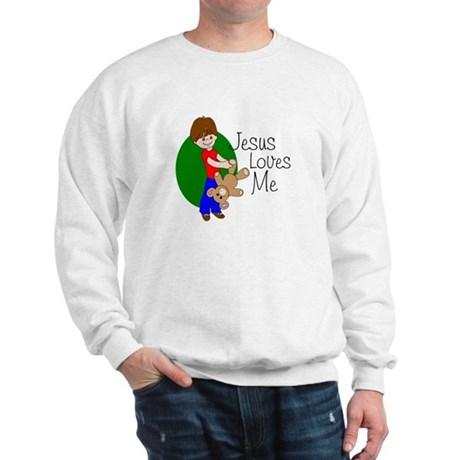 Jesus Loves Me Sweatshirt